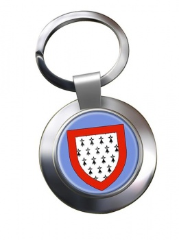 Limousin (France) Metal Key Ring