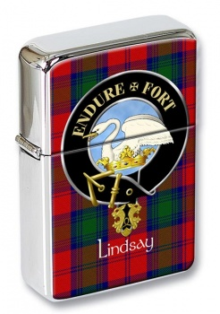Lindsay Scottish Clan Flip Top Lighter
