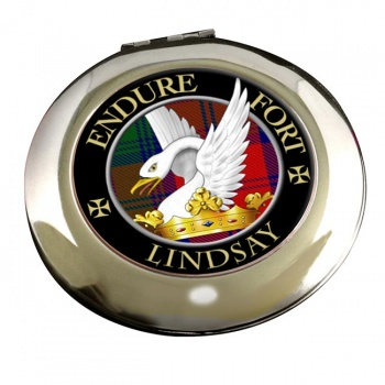 Lindsay Scottish Clan Chrome Mirror