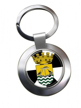 Lisboa Lisbon (Portugal) Metal Key Ring