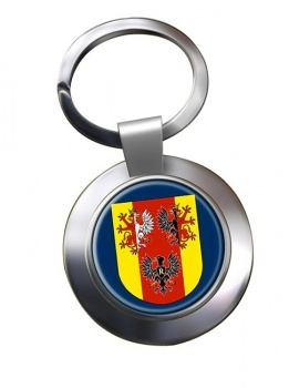 Lodzkie (Poland) Metal Key Ring