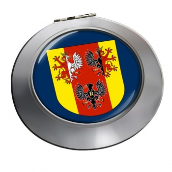 Lodzkie (Poland) Round Mirror