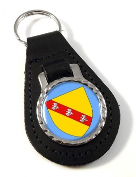 Lorraine (France) Leather Key Fob