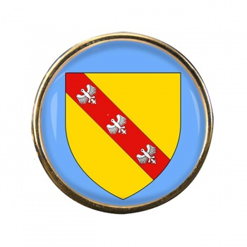 Lorraine (France) Round Pin Badge