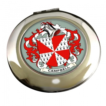 Campbell of Loudoun Coat of Arms Chrome Mirror