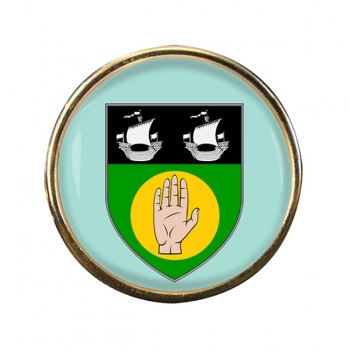 County Louth (Ireland) Round Pin Badge