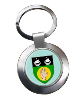 County Louth (Ireland) Metal Key Ring