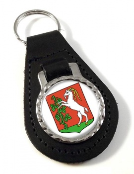 Lublin (Poland) Leather Key Fob
