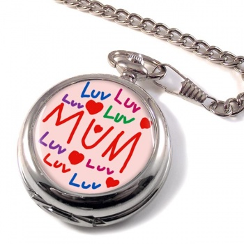 Love Mum Pocket Watch