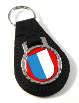 Lucerne (Switzerland) Leather Key Fob