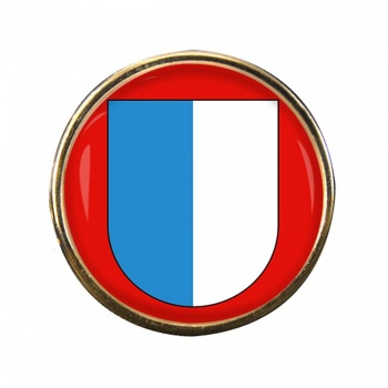Lucerne (Switzerland) Round Pin Badge