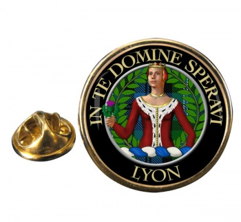 Lyon (France) Round Pin Badge
