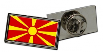 Macedonia  Flag Pin Badge