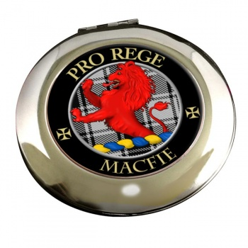 Macfie ancient Scottish Clan Chrome Mirror