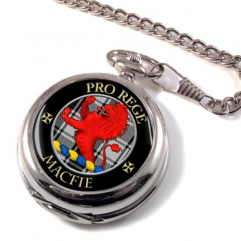 Macfie ancient Scottish Clan Pocket Watch