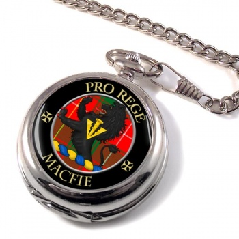 Macfie modern Scottish Clan Pocket Watch