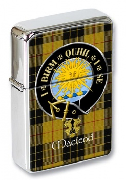 Macleod of Lewis (Old Scots) Scottish Clan Flip Top Lighter