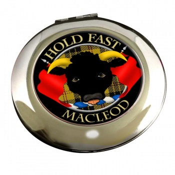Macleod Scottish Clan Chrome Mirror