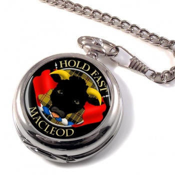 Macleod Scottish Clan Pocket Watch