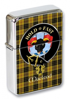 Macleod Scottish Clan Flip Top Lighter
