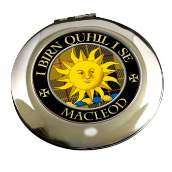 Macleod of Lewis (Old Scots) Scottish Clan Chrome Mirror