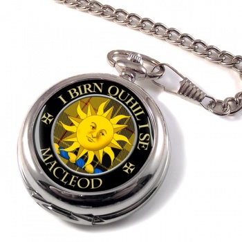 Macleod of Lewis (Old Scots) Scottish Clan Pocket Watch