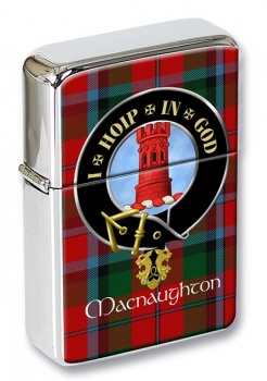 Macnaughton Scottish Clan Flip Top Lighter