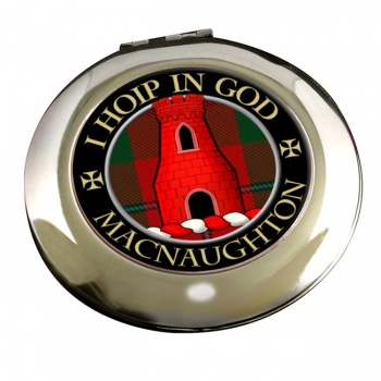 Macnaughton Scottish Clan Chrome Mirror