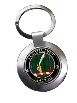Macrae Scottish Clan Chrome Key Ring
