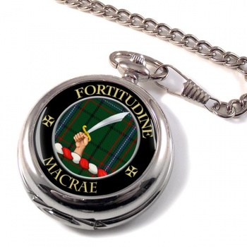 Macrae Scottish Clan Pocket Watch