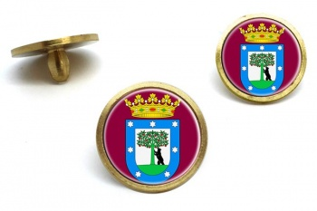 Madrid (Spain) Golf Ball Marker