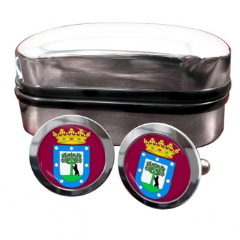 Madrid (Spain) Crest Cufflinks