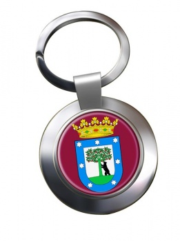 Madrid (Spain) Metal Key Ring