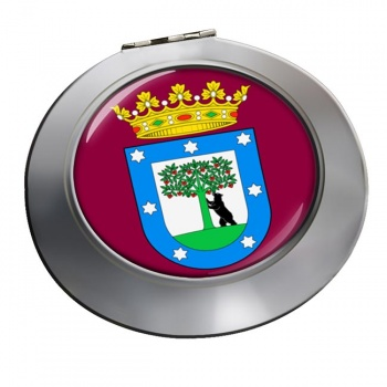 Madrid (Spain) Round Mirror
