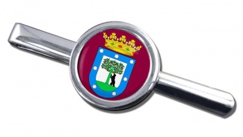 Madrid (Spain) Round Tie Clip