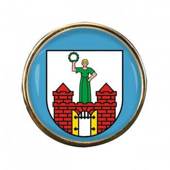 Magdeburg (Germany) Round Pin Badge