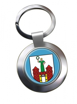 Magdeburg (Germany) Metal Key Ring