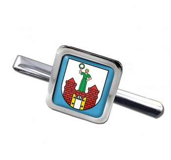 Magdeburg (Germany) Square Tie Clip