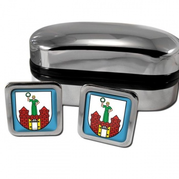 Magdeburg Germany Square Cufflinks