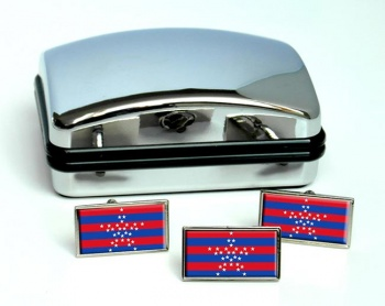 Magdalena (Colombia) Flag Cufflink and Tie Pin Set