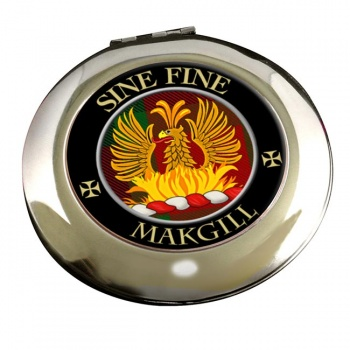 Makgill Scottish Clan Chrome Mirror