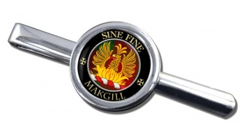Makgill Scottish Clan Round Tie Clip
