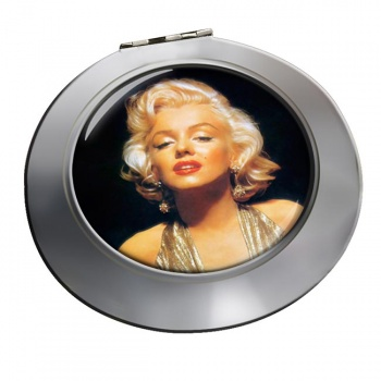 Marilyn Monroe Chrome Mirror