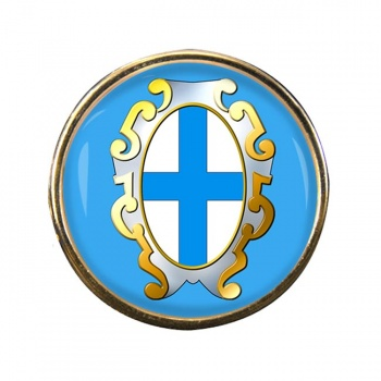 Marseille (France) Round Pin Badge