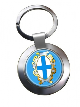 Marseille (France) Metal Key Ring