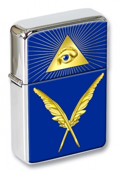 Masonic Lodge  Secretary Flip Top Lighter