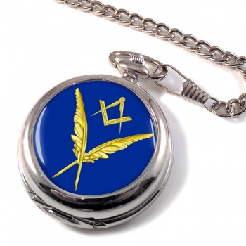 Masonic Lodge  Secretary Pocket Watch