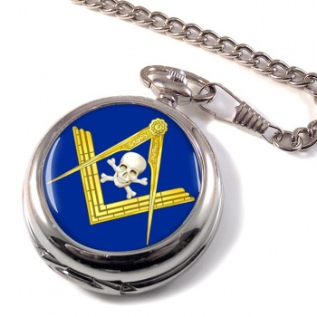 Masonic Skull Pocket Watch