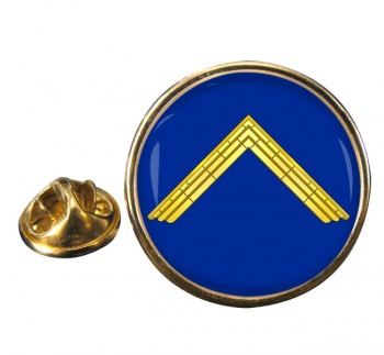 Masonic Master Lapel Pin Badge