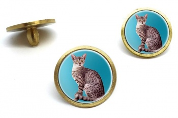 Egyptian Mau Cat  Golf Ball Marker Set